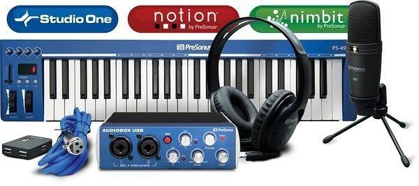 音響世界。Presonus Music Creation Suite 超值豪華音樂製作套裝組合