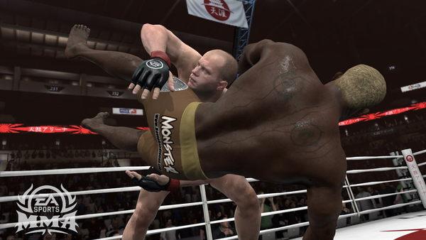 【免運費】EA SPORTS MMA 實況格鬥武者 - PS3亞洲英文版【提供超商取貨】