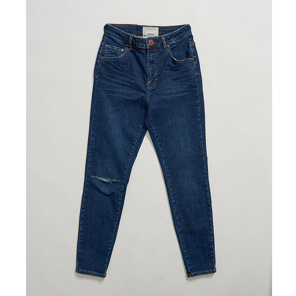 ONETEASPOON  WW  ALABAMA FREEBIRDS II SUPER HIGH WAIST SKINNY JEAN  牛仔褲-藍(女)