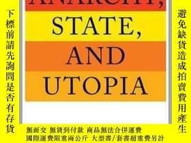 二手書博民逛書店[英文•罕見]《無政府國家和烏托邦》Anarchy, State, and UtopiaY169321 Rob