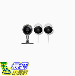 [8美國直購] Nest Cam Indoor and Nest Cam Outdoor 2-Pack Bundle 監視器組合