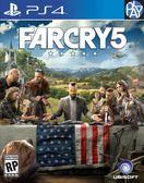 PS4-二手片 Farcry5 極地戰嚎五 中文版 PLAY-小無電玩