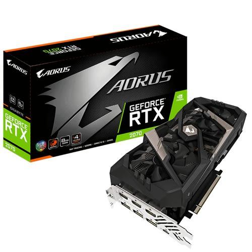 技嘉 AORUS GeForce RTX 2070 8G (GV-N2070AORUS-8GC)【刷卡含稅價】