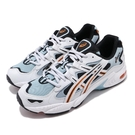 Asics 休閒鞋 Tiger Gel-Kayano 5 OG 白 藍 橘 男鞋 女鞋 復刻 老爹鞋 運動鞋【PUMP306】 1021A163020