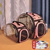 貓包貓咪外出便攜寵物包貓背包太空艙單肩透氣手提貓籠子便攜外出『潮流世家』