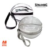 【SPALDING 斯伯丁】 單顆裝籃球瓢蟲袋 -黑/銀(5309N00) 全方位跑步概念館