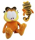【卡漫城】 加菲貓 絨毛 玩偶 35CM ㊣版 Garfield  娃娃  收藏 佈置 卡通 布偶 擺飾