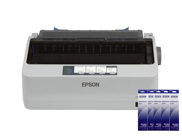 EPSON LQ-310 點陣印表機 + 5支原廠色帶