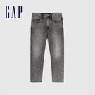 Gap男裝 輕薄款水洗五口袋牛仔褲 570166-灰色水洗