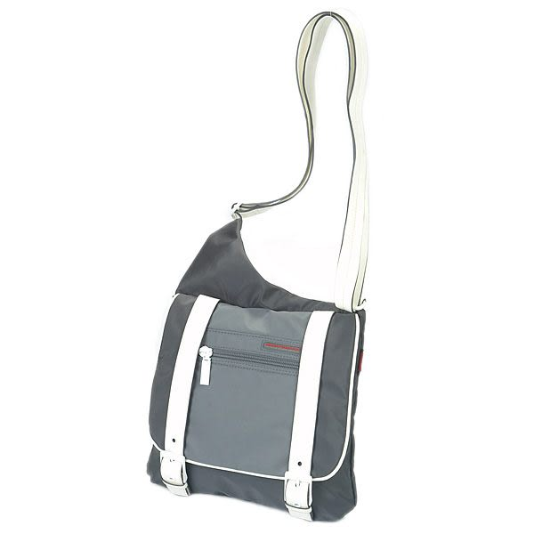 HEDGREN 休閒系列輕便雙配色側背包(碳灰) HSH14000CC