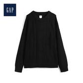 Gap男裝V領套頭寬鬆毛衣515631-清淡灰色