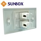 雙孔L型 HDMI面板插座 (WP-2HL) SUNBOX