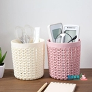 筆筒 居家鏤空多功能小筆筒塑料辦公收納筒...