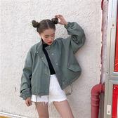 牛仔外套女春季牛仔衣正韓學生寬鬆百搭短款長袖夾克bf潮優樂居生活館