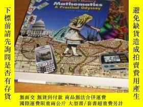 二手書博民逛書店Mathematics:罕見A Practical Odysse