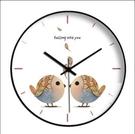 客廳時鐘 靜音簡約北歐藝術掛表現代星空掛鐘客廳家用時鐘掛墻石英鐘表【快速出貨八折搶購】