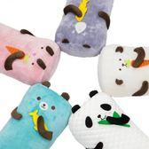 歡樂動物園造型長枕4020-(混款隨機出貨)