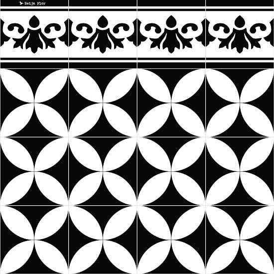 牆面貼 磚紋 Beija Flor  Roll Stickers RS - SO4X1 (40×100)