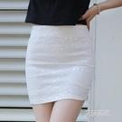 包臀裙一步裙半裙蕾絲半身裙包臀裙女高腰修身職業短裙彈力包裙【2021特惠】