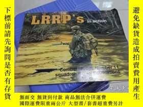 二手書博民逛書店lrrp s罕見in action combat troops number 11 squadron signal