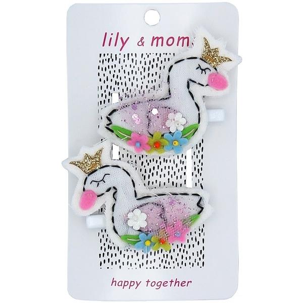 【美國 Lily & Momo】手工童趣髮飾- 天鵝湖 #HCA328