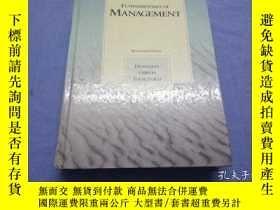二手書博民逛書店Fundamentals罕見of Management 大16開