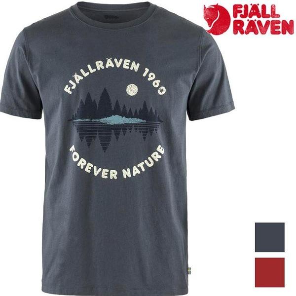 『VENUM旗艦店』Fjallraven 瑞典北極狐 Forest Mirror 男款有-機棉短袖T恤 87045