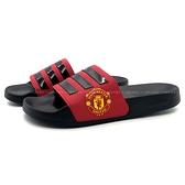 《7+1童鞋》ADIDAS FW7072 ADILETTE 輕量 防水 止滑 運動拖鞋 7418 黑色