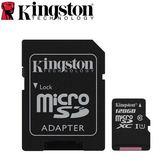 【台中平價鋪】 全新 Kingston金士頓 microSDXC UHS-I 記憶卡 128GB  附轉卡 終保