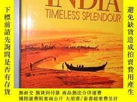 二手書博民逛書店India罕見Timeless Splendour 英文原版精裝