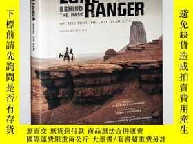 二手書博民逛書店獨行俠罕見電影藝術設定集 The Lone Ranger: Be