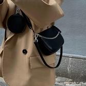 OMG STUDIO 三合一挎包斜跨包單肩包單肩包復古俏皮酷酷女孩風 艾瑞斯