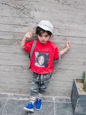 男童短袖t恤棉質中小童夏2018新款夏裝潮寶寶1-3歲韓版夏季體恤(交換禮物 創意)聖誕