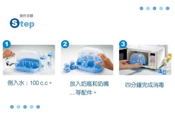 【奇買親子購物網】酷咕鴨KU.KU. 微波蒸氣奶瓶消毒盒