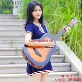 演翼41寸初學者吉他38寸民謠木練習男女學生自學jita40寸樂器吉它【齊心88】
