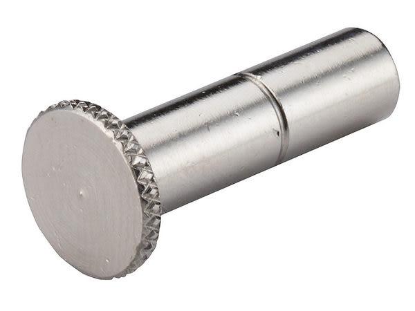 1/4 2分止水塞頭(銅鍍鉻材質)用在高低壓噴霧機的三通末端