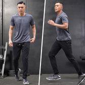 年末鉅惠 運動套裝男夏季跑步短袖長褲速干健身新款透氣寬鬆薄款訓練休閒裝