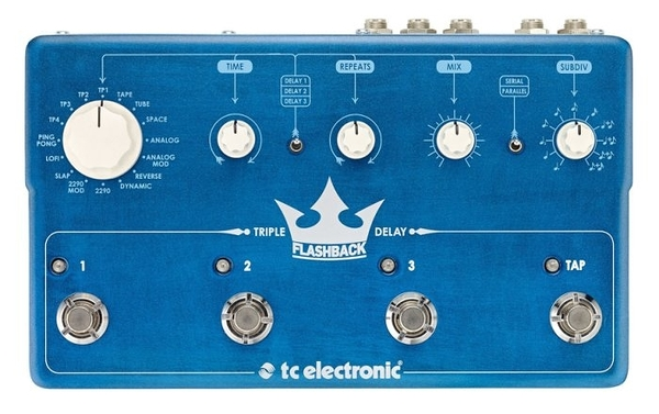 ☆ 唐尼樂器︵☆ TC Electronic Flashback Triple Delay 單顆 延遲 效果器