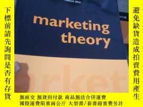 二手書博民逛書店Marketing罕見Theory VOLUME 16 NUMB