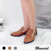 包鞋 金屬飾尖頭包鞋 MA女鞋 T2031