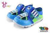 TAYO 泰路小巴士 運動涼鞋 男童 中小童 休閒鞋 I6791#藍綠◆OSOME奧森童鞋