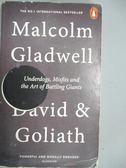 【書寶二手書T3/心理_LGG】David and Goliath: Underdogs, Misfits, and t