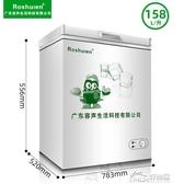 雙溫轉換小冷櫃保鮮小型冰櫃家用商用立式冷凍冷藏櫃節能迷你 好樂匯