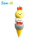 【日本正版】角落生物 冰淇淋 捏捏吊飾 捏捏樂 軟軟 Squishy 角落小夥伴 San-X 640031
