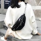 超火ins小包包女新款時尚日韓斜背復古chic學生腰包胸包 黛尼時尚精品