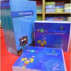 【兒童分級讀本L2】STEP INTO READING #內含25書+25片CD