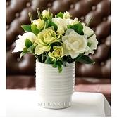 梔子花仿真花套裝花藝裝飾花假花絹花家居飾品擺件餐桌客廳人造花-beibe003