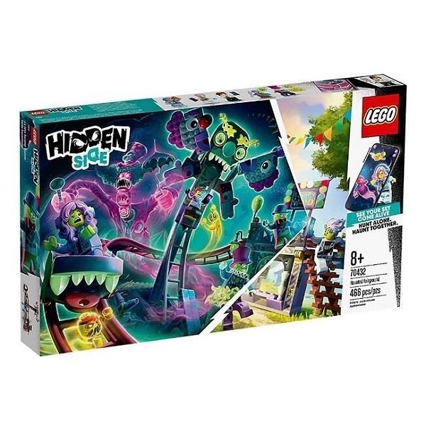 【南紡購物中心】【LEGO 樂高積木】幽魂祕境Hidden Side 系列 - Haunted Fairground70432