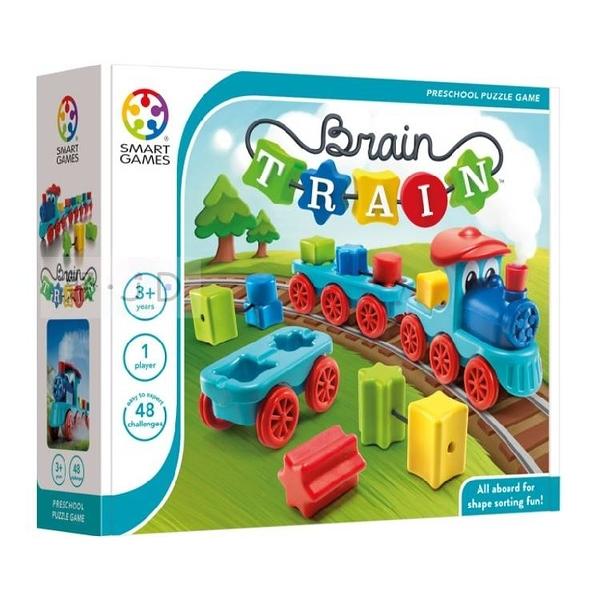 【比利時 Smart Games】益智桌遊 - 01482 動動腦小火車 ACT06414