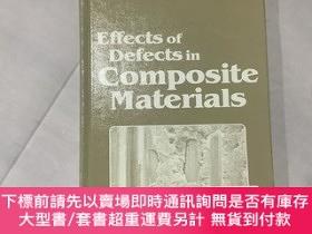 二手書博民逛書店Effects罕見of Defects in Composite Materials 復合材料中缺陷的影響(精裝,